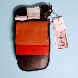 Kooba Leather Crossbody Handbag